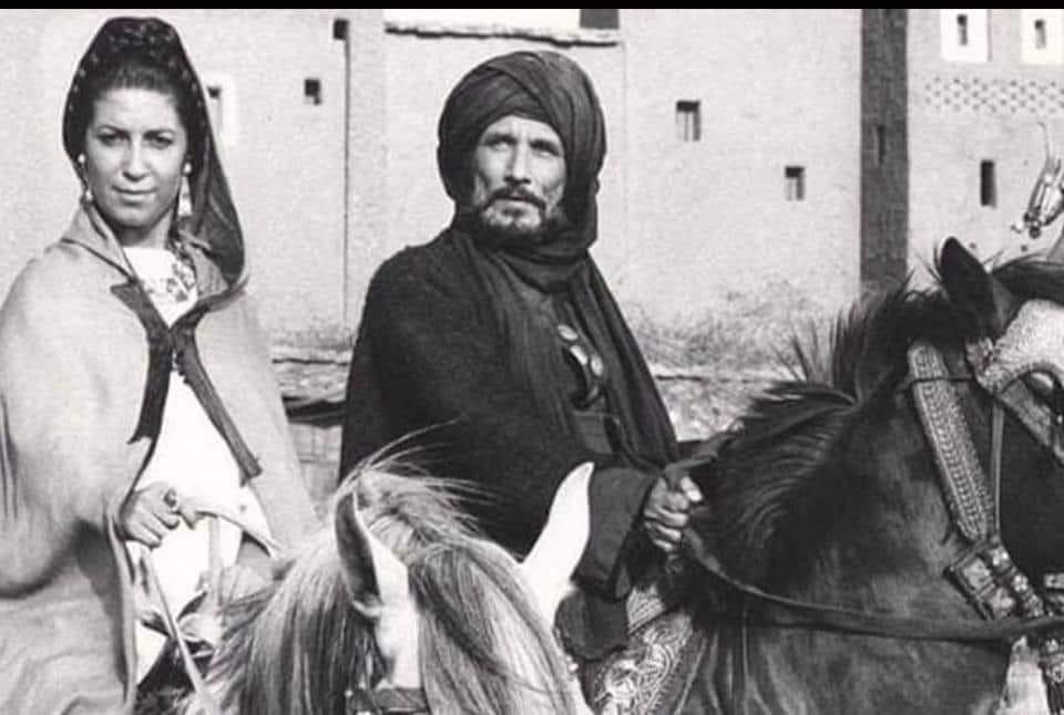 صورة نادرة لألد عدوّين في تاريخ السينما العربية