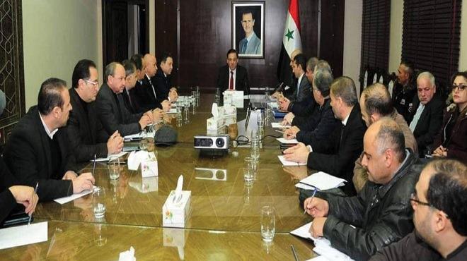 حاكم المركزي يجتمع مع اتحاد غرف التجارة..
