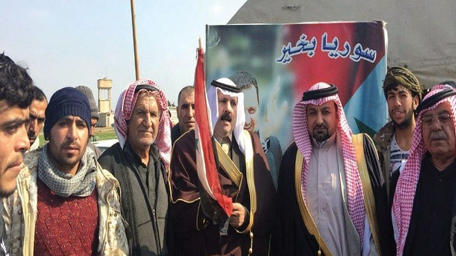 العشائر العربية في الحسكة تجدد دعمها للجيش وتدعو إلى مقاومة الاحتلال الأميركي