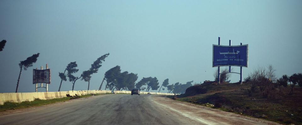 بدء تأهيل طريق حلب دمشق من خان شيخون