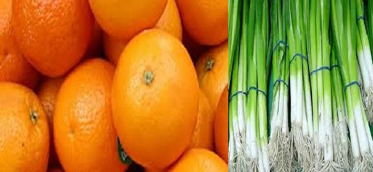كيلو البصل الأخضر بعشرة أضعاف كيلو البرتقال في طرطوس