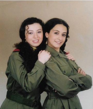 صورة كاريس بشار قبل 22 عاماً