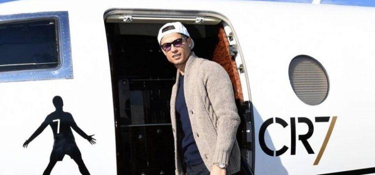 كريستيانو رونالدو في ورطة بسبب طائرته