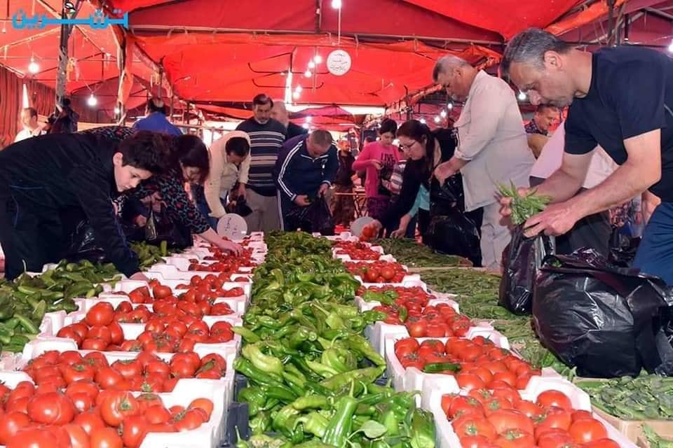 السوق الشعبي في جرمانا
