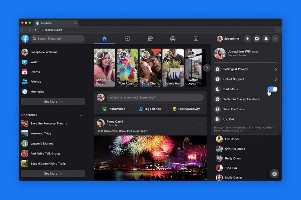 فيسبوك يطلق التصميم الجديد لكل المستخدمين.. ميزة هامة أضيفت لسطح المكتب