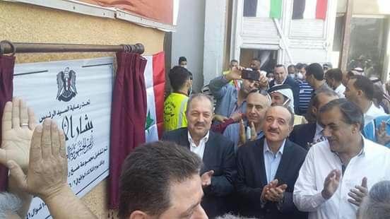 برعاية الرئيس الأسد.. تشغيل مجموعة الضخ الرئيسية في المحطة المشتركة بمسكنة لارواء ٦ الاف هكتار