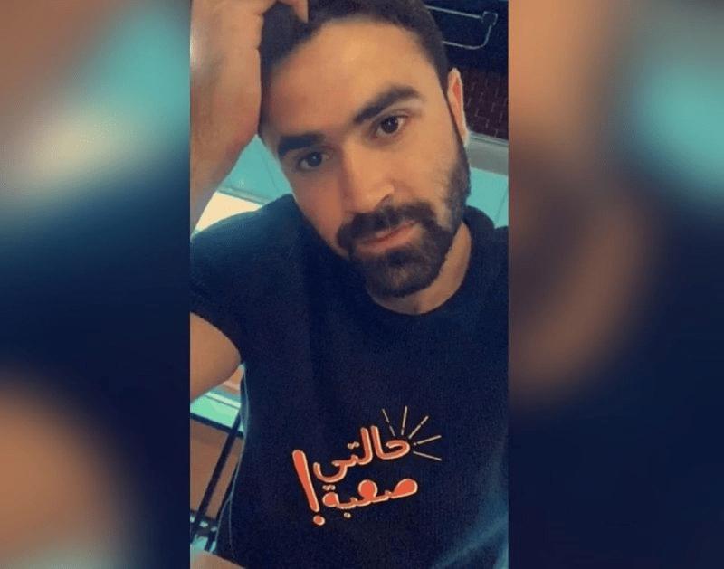 """عمر خربين يرسل رسالة """"غامضة"""" عبر حسابه في """"سناب شات"""""""