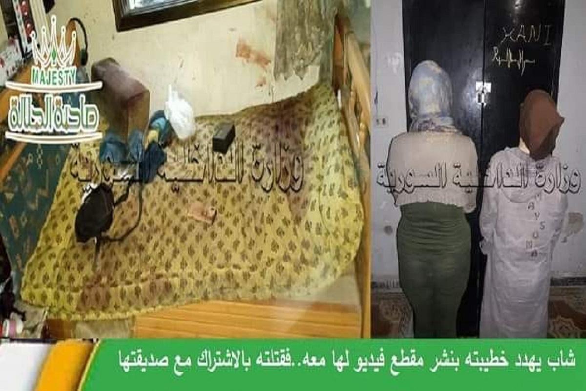 فيببيلابريف دمشق..قتلته بطعنتين في رأسه و3 ببطنه