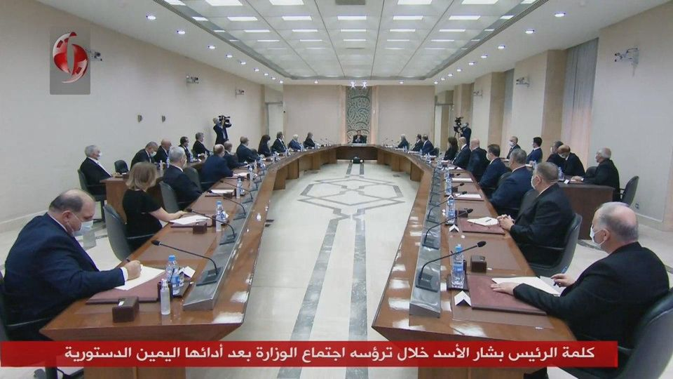 من كلمة الرئيسالأسدخلال ترؤسه اجتماعالوزارة الجديدة: