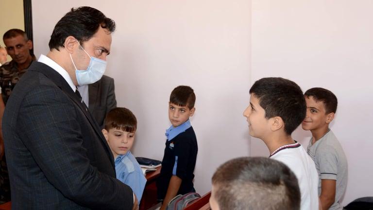 محافظة دمشق تضع مدرسة عش الورور بالخدمة .. العلبي : نعمل لتوفير بيئة تعليمية مناسبة للتلاميذ