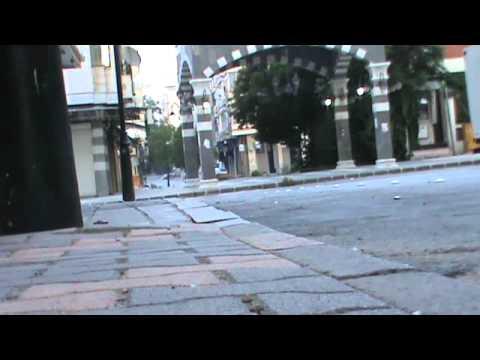 وفاة فتاة إثر سقوطها من بناء بحي الدبلان بحمص