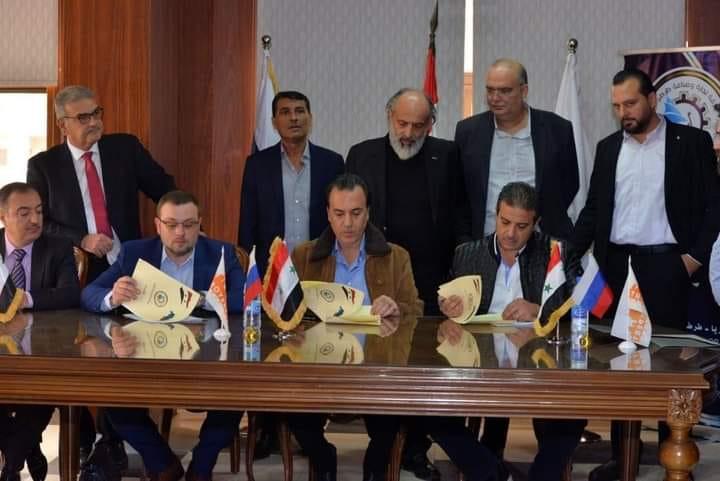 اتفاق على بدء تصدير حمضيات وخضار إلى الجنوب الروسي وإقامة منشأة للفرز والتوضيب بـ طرطوس