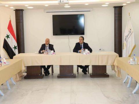 اتحاد غرف الصناعة السورية يناقش إجراءات تسهيل التصدير ودعمه